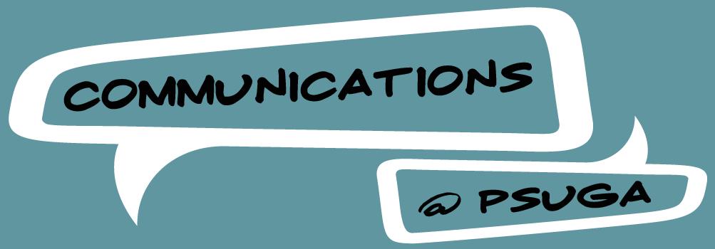 Communications program logo