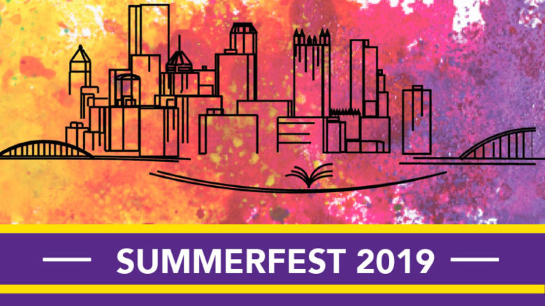Pittsburgh Skyline with text that reads Summer Fest 2019