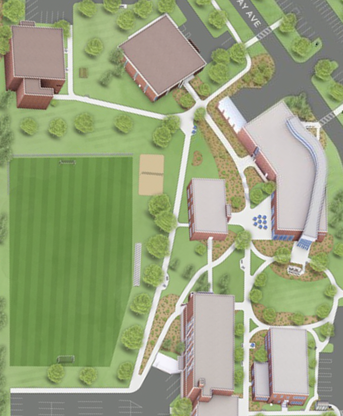Map of Lower Campus