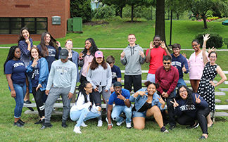 2018 Greater Allegheny PaSSS Students taking a funny picture