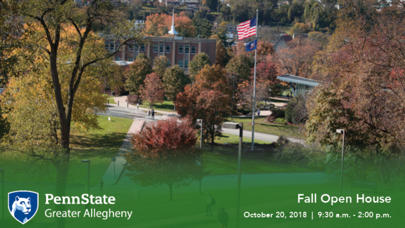 Fall Open House October 20, 2018 9:30 am - 2:00 pm