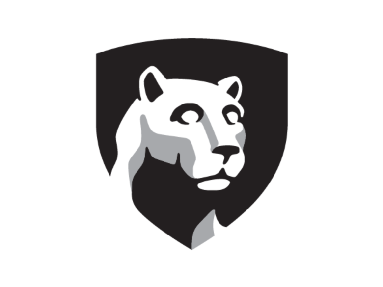 Penn State Shield with Lion