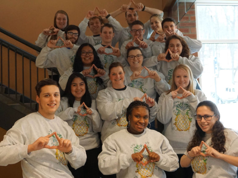 Penn State Greater Allegheny's 2019 Thon Team