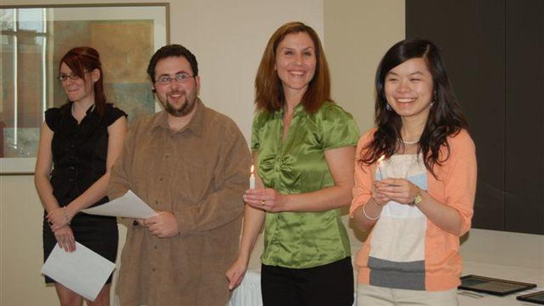 Psi Chi members Spring 2010