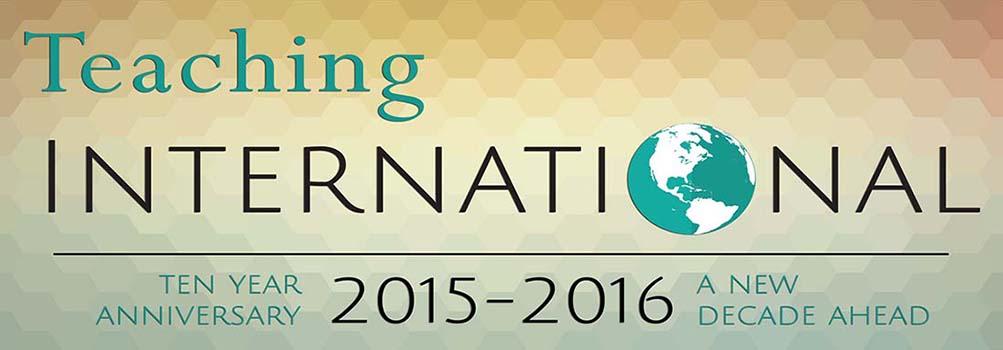 Teaching International logo celebrating 10 years